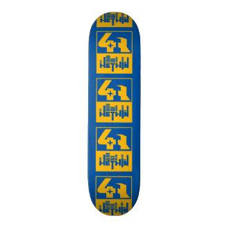 Hethin Label skate deck
