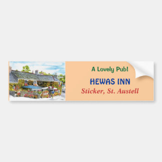 'Hewas Inn' Bumper Sticker Car Bumper Sticker