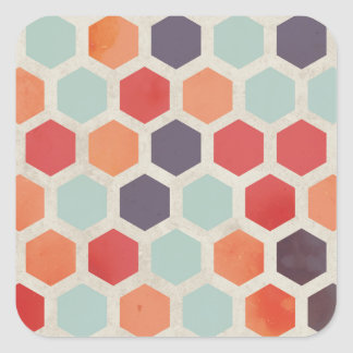 Hex Appeal Square Sticker