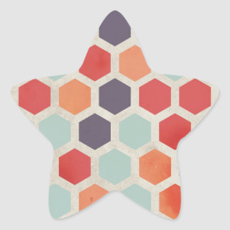 Hex Appeal Star Sticker
