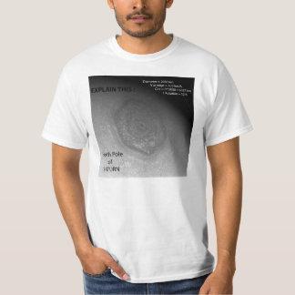 "Hexagonal ""Storm"", Saturn's North Pole - Icke? Tee Shirt"