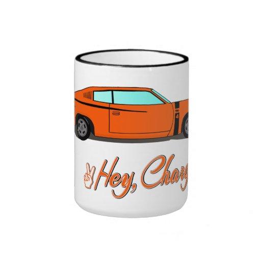 Hey, Charger! Mug