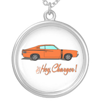 Hey, Charger Necklace