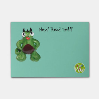 Hey! Read me! Post-it® Notes 4 x 3