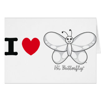 Hi Butterfly® Note Card