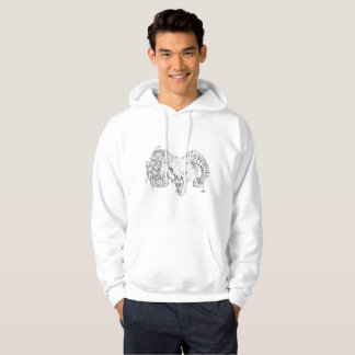 hi ji wolf sheepwolf hoodie