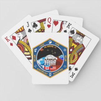 HI-SEAS Mission III Gear Playing Cards