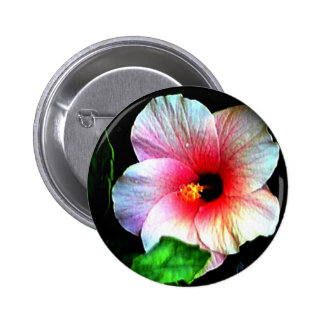 Hibiscus72 jGibney The MUSEUM Zazzle Gifts Pinback Buttons
