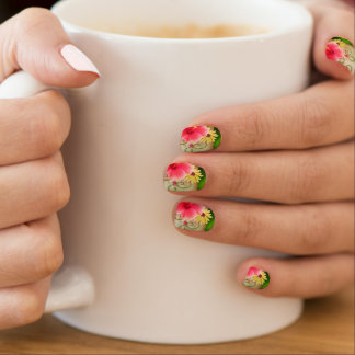 hibiscus flowers BY PRISARTS Minx Nail Art