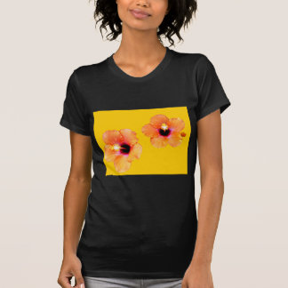 Hibiscus Orange Gold bg The MUSEUM Zazzle Gifts Shirts