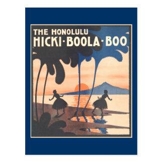 Hicki Boola Boo Postcard