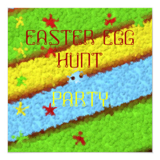 Hidden Easter Egg Woman Hunt Card