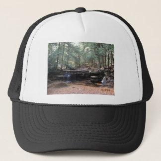 Hidden gem waterfall trucker hat