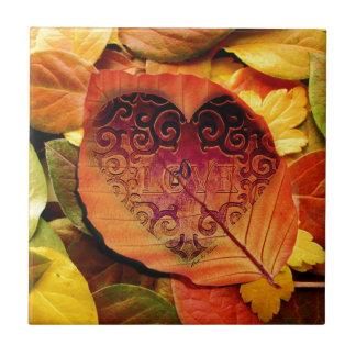 Hidden Love for Fall Tile
