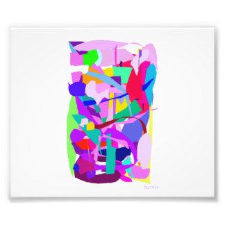 Hidden Purple Photo Art