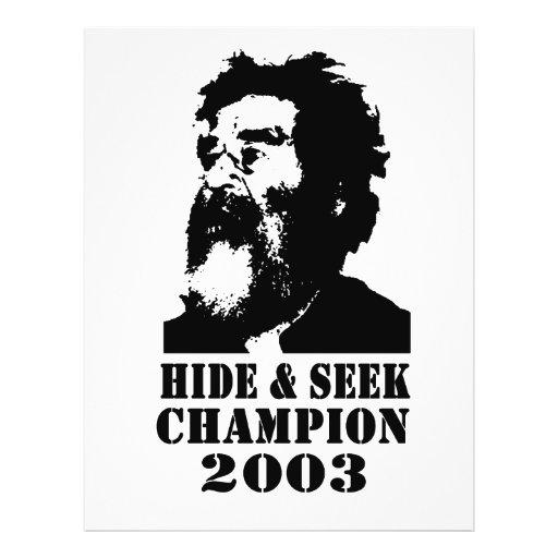 Hide & Seek Champ 2003 Full Colour Flyer
