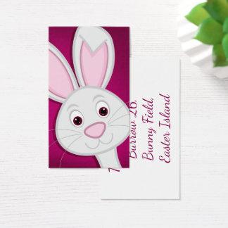 Hiding Easter Bunny Business Card
