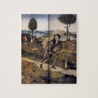 Hieronymus Bosch- Haywain (detail) Puzzle
