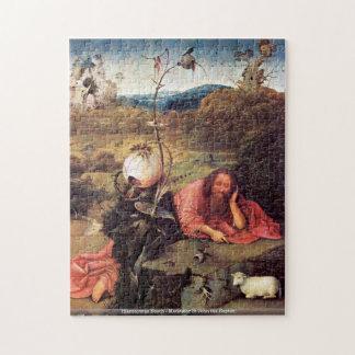 Hieronymus Bosch - Meditator St John the Baptist Puzzles