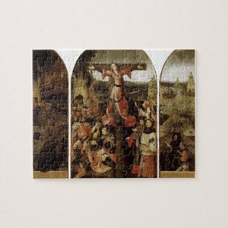 Hieronymus Bosch- St. Liberata Triptych Puzzle