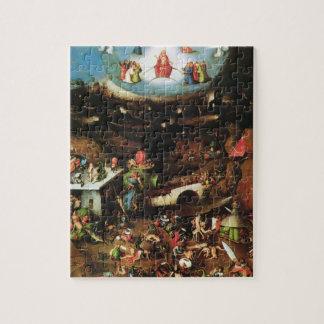 Hieronymus Bosch- The Last Judgement (detail) Puzzles