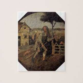 Hieronymus Bosch- The Vagabond (The Prodigal Son) Jigsaw Puzzle