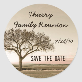 High Country Save the Date Stickers