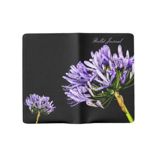 High-End Purple Wildflower Moleskine Journal