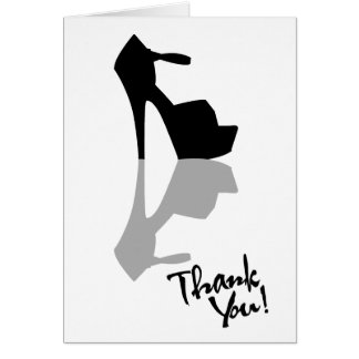 HIGH HEEL - PUMP IT UP THANK YOU GREETING CARD