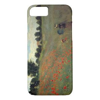 High Res Monet Wild Poppies near Argenteu iPhone 8/7 Case