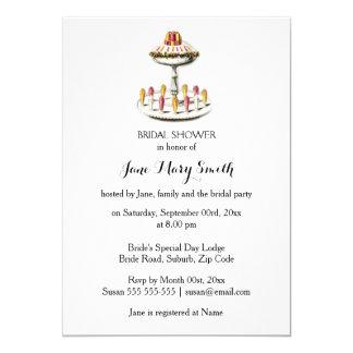High tea sundae jelly desserts card
