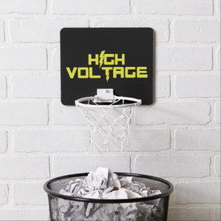 High Voltage Basketball Hoop