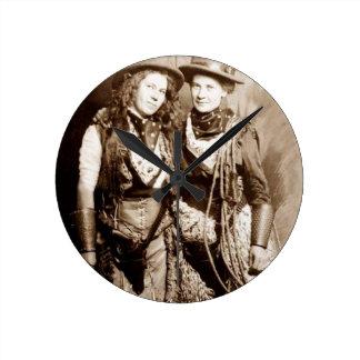 HIgh Western Fashion Round Clock