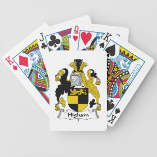 Higham Family Crest Bicycle Playing Cards