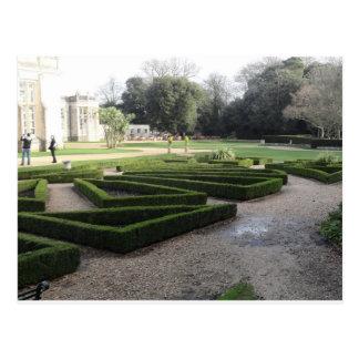 Highcliffe Castle Gardens, Dorset. Postcard