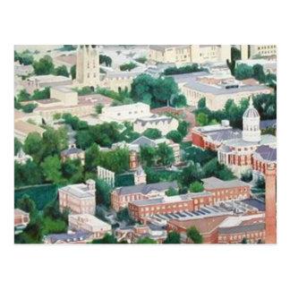 """Higher Education"" University Of Missouri Ariel Postcard"