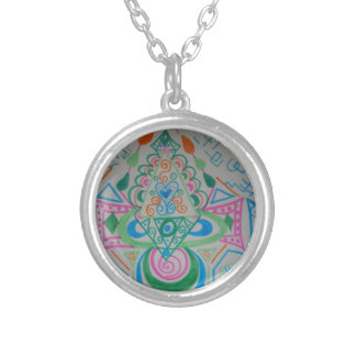 Higher Heart Activation Silver Plated Necklace