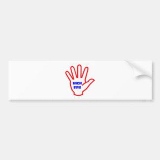 HIGHFIVE KIDS motivational Tool for Teachers Bumper Sticker