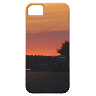 Highway Sunset Vivid Case For The iPhone 5
