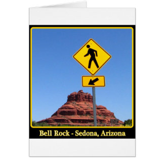 Hike Bell Rock Greeting Card