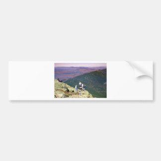 Hikers on Mt Lafayette, NH.jpg Bumper Sticker