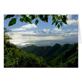 Hiking Oahu Card