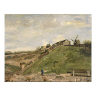 Hill of Montmartre with Stone Quarry by Van Gogh Photo Print