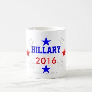 HILLARY 2016 Morphing Mug and Beverage Containers