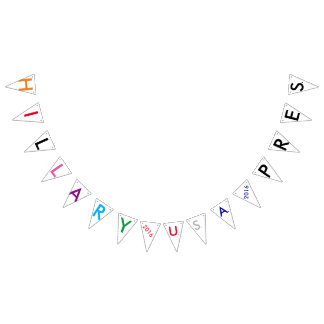 Hillary 2016 U.S.A. Pres. Party Yardsign Bunting