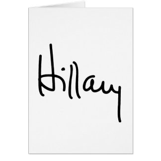 Hillary Autograph (black) -.png Card