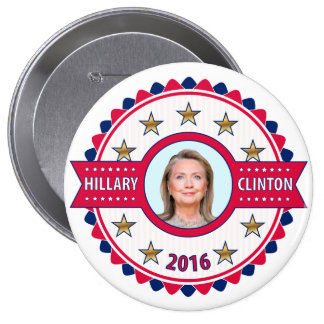 Hillary Clinton 2016  Pageant Campaign Button