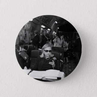 Hillary Clinton Being A Boss 6 Cm Round Badge
