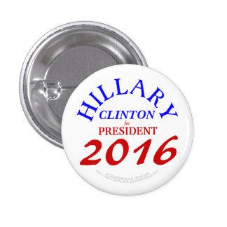 Hillary CLINTON for President 2016 3 Cm Round Badge