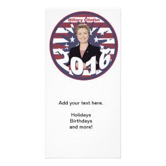 Hillary Clinton for President 2016 Custom Photo Card